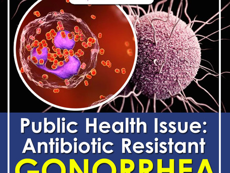 Antibiotic-Resistant Gonorrhea is a Public Health Concern