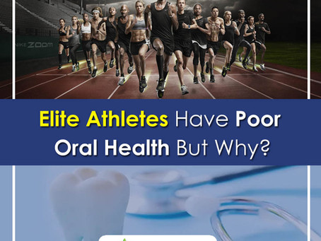 Elite Athletes Have Poor Oral Health