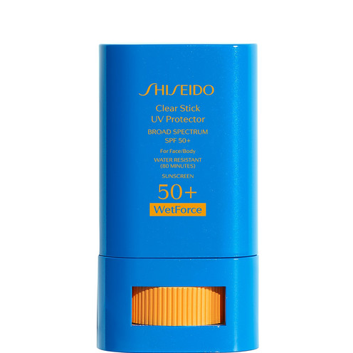 Shiseido Clear Stick UV Protector | SPF & Sun Damage by THE BEAUTY EDIT