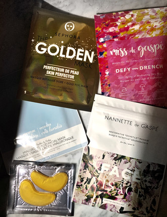Nanette de Gaspé Masks, Miss de Gaspé, Masks, Masques, Beauty, Face Mask, Hydration, Beauty and Wellness, Sephora, Flawless U, Eye Mask, Sephora Collection, Glowy Skin