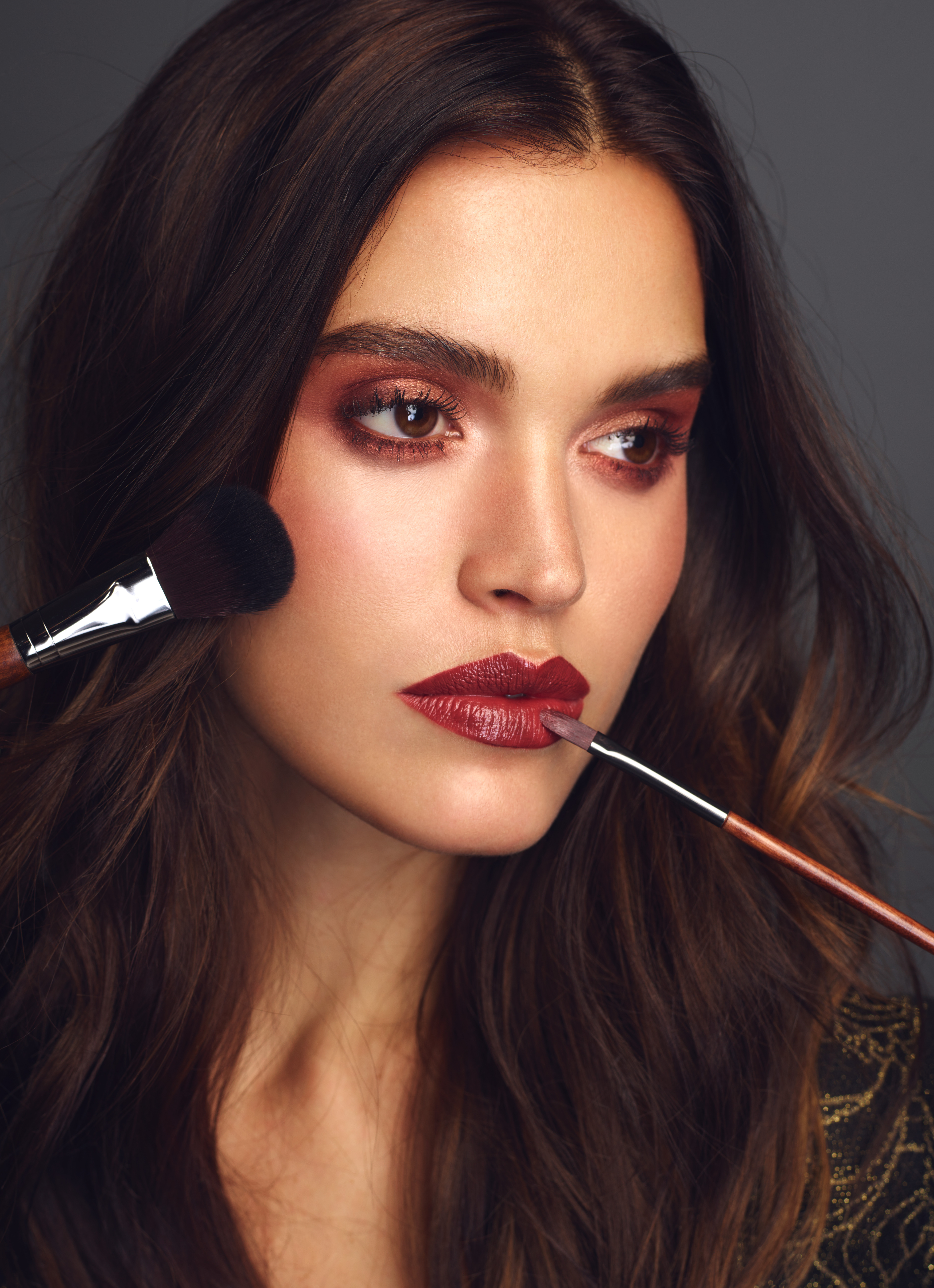 Brushes Beauty Editorial for DTK