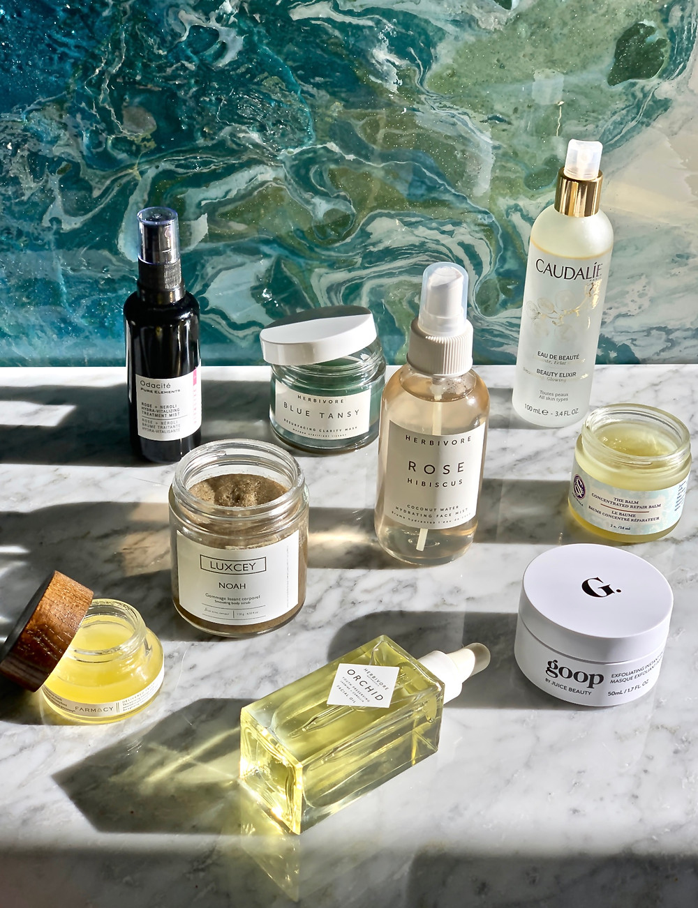 Natural Beauty, Clean Beauty, The Beauty and Wellness Edit, Caudalie, Herbivore, Goop, Luxcey, Farmacy, Odacite, Editor's Picks The Golden Edition, Cruelty Free Beauty, Skincare