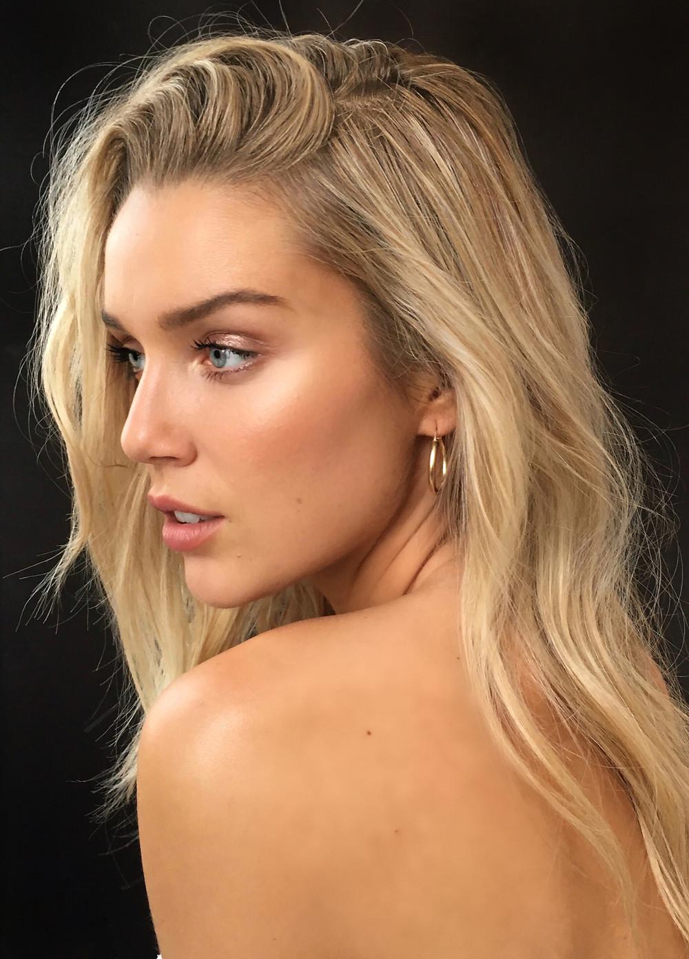 Mayillah Makeup Artist, Marie-Laurence Gravel Model, Natural Beauty by Mayillah, Golden Edition, The Beauty Edit, @mayillah_