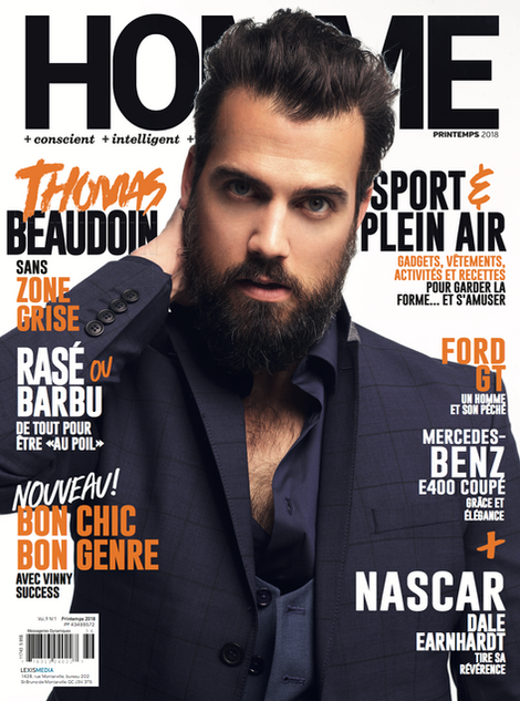 Homme Magazine Cover