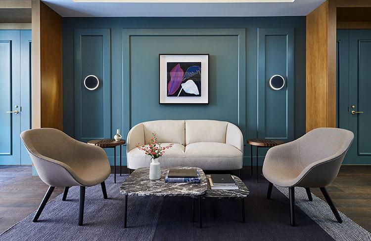 Kimpton Saint George Hotel's The Peregrine Room: A bright 100-square-metre meeting space