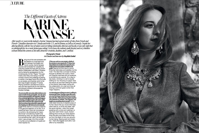 Karine Vanasse, Produced by Mayillah, Mayillah Makeup Artist