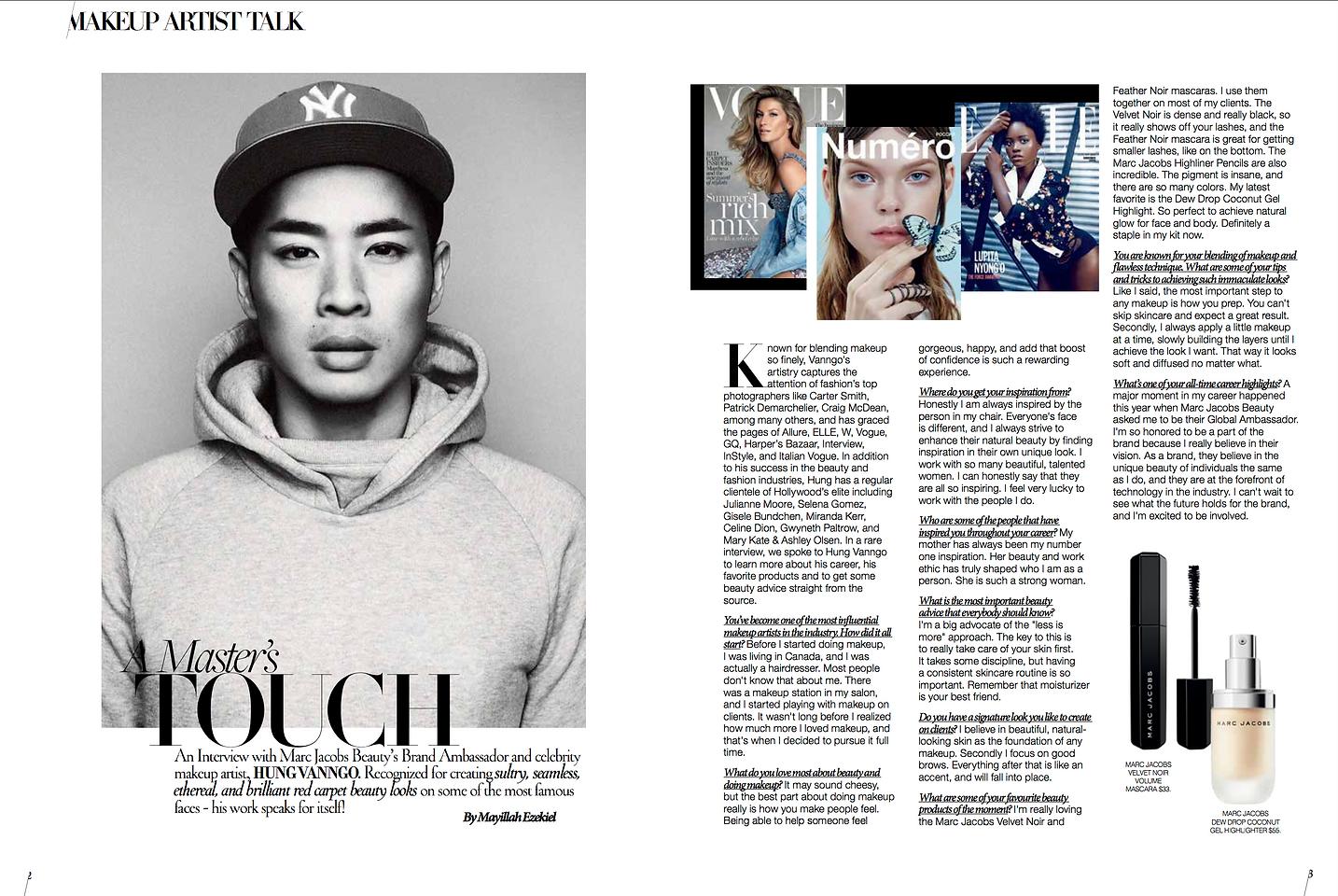 Hung Vanngo, Makeup Artist, Produced by Mayillah, Interview, Mayillah Makeup Artist