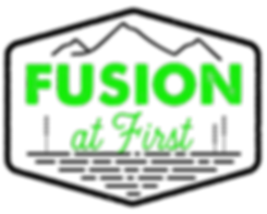 Fusion At First (logo 4 Green black).png