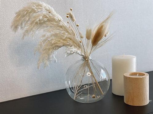 אגרטל זכוכית באבל- בינוני