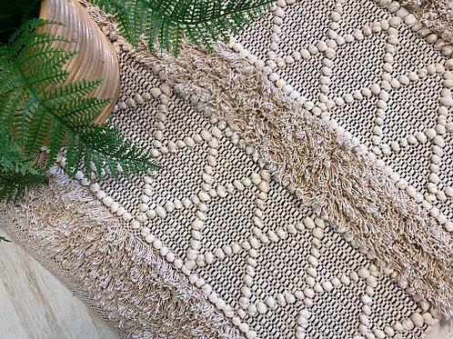 שטיח בוהו גריי