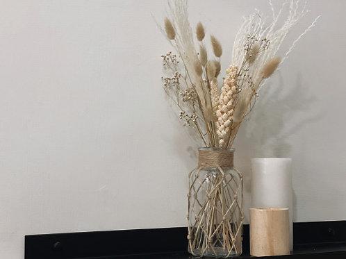 אגרטל סאנד- זכוכית וחבל