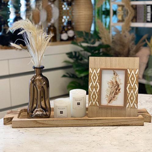 סידור שולחן מגש עץ-מחיר לפי פריט