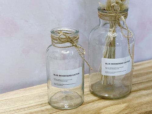 בקבוק זכוכית נורדי-גודל לבחירה