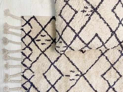 שטיחון בוהו גריי