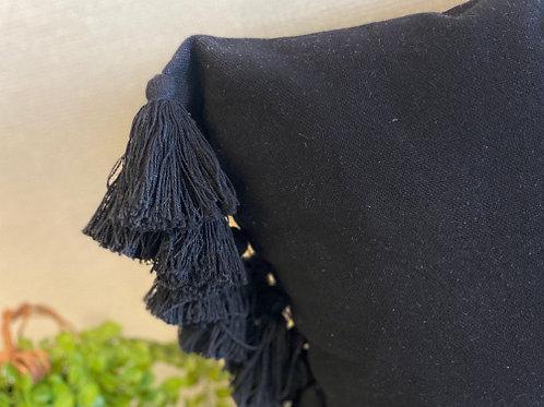 כרית נוי-מיורקה-שחור