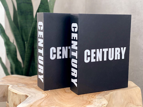 CENT ספר נוי שחור