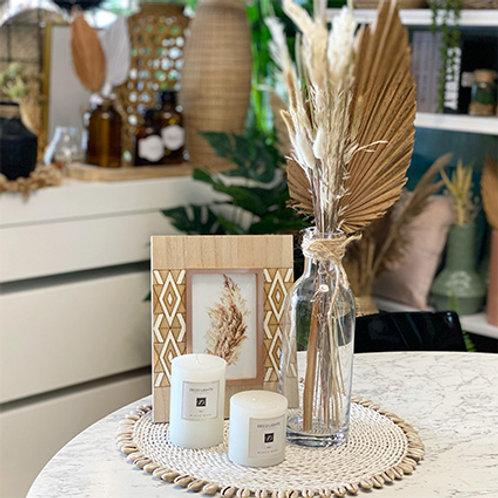 סידור שולחן שילוב זכוכית-מחיר לפי פריט