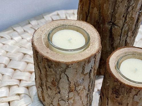 פמוטי גזע עץ טבעי -גודל לבחירה