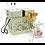 Thumbnail: B0172/B0174/PM039 中號金玫瑰(全開&含苞)+兔仔陶瓷樽