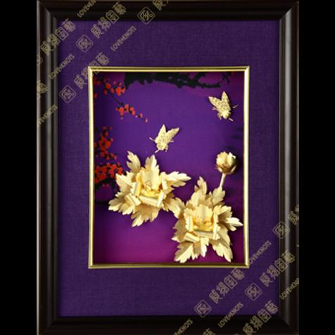 C0106 紫氣東來-花開富貴