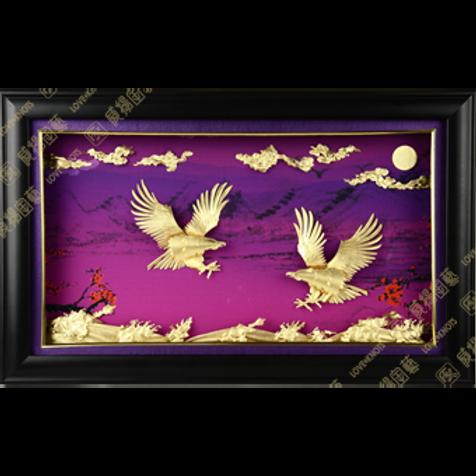 C0110 紫氣東來-翱翔亨通
