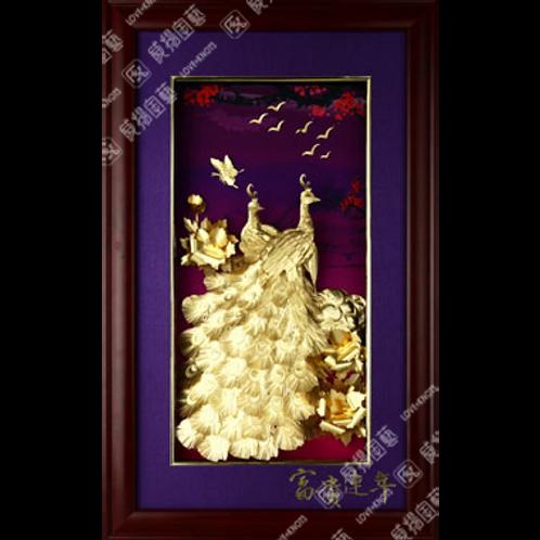 C0155 紫氣東來-富貴連年