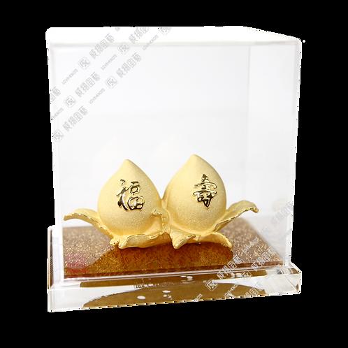 B0324 福壽雙桃