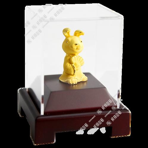D0016-S03RT 新十二生肖-兔