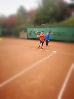Training in Bingen