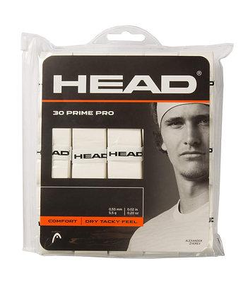 HEAD PRIME PRO 30 PCS PACK (OVERGRIP)