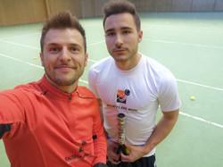 Training mit Julian Götz