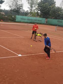 Training mit Miro Müller