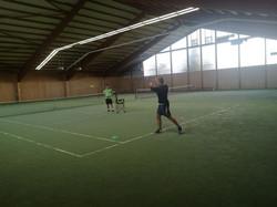 Training mit Marius Wolf