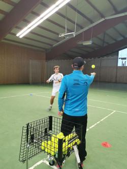Training mit Jannik