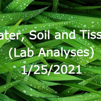 WaterSOLV Analytical Necessities