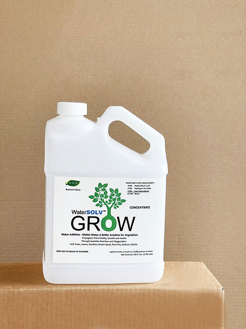 1 Gallon WaterSOLV GROW Concentrate