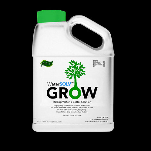 32 oz WaterSOLV GROW Concentrate