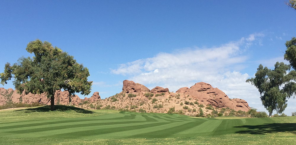 Papago Golf treated with WaterSOLV