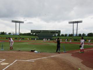 【キッズ支援事業】信濃グランセローズの皆さんとの野球教室が開催されました