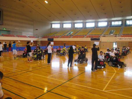 第3回長野県電動車椅子サッカー大会が行われました
