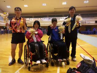 第9回国際クラス別パラ卓球選手権大会に長野県から4名の選手が参加しました