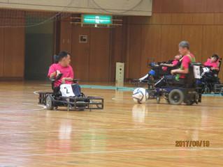 第1回電動車椅子サッカー大会が開催されました