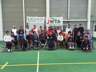 長野県車いすテニス講習会が開催されました