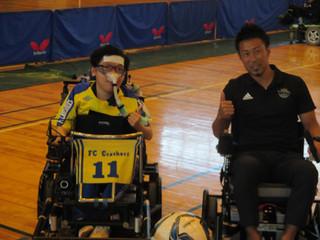 第2回電動車椅子サッカー大会が開催されました