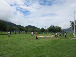 信濃グランセローズの皆さんと「飯山養護学校」を訪問しました