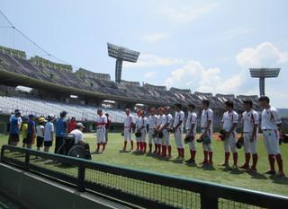 信濃グランセローズの皆さんと野球教室を開催しました