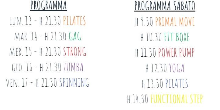 Programma corsi speciali