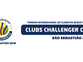 Captação do Torneio Internacional de Clubes de Beach Soccer – Clubs Challenger Cup