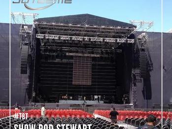 #TBT show Rod Stewart
