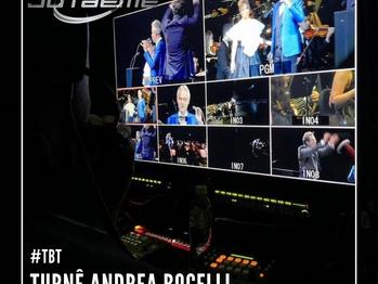 #TBT Turnê Andrea Bocelli